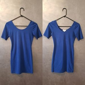 FOREVER21 blue casual dress size small